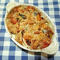 ☆ツナ夏野菜のトースター焼き☆