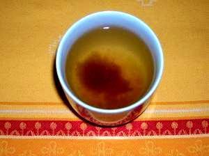 ☆風邪を早く治そう☆梅干し入り玄米茶