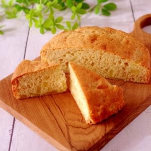 ホットケーキミックスで簡単♪りんごブレッド(パン)