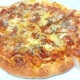 モッツァレラチーズとアンチョビのピザパン