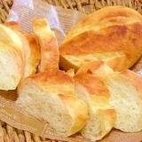 手捏ねで簡単☆フランスパン