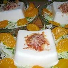 豆腐&野菜のサラダ