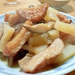 干し椎茸で旨さ倍増☆大根の煮物