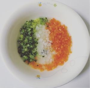 三色スープ 離乳食初期・中期・後期