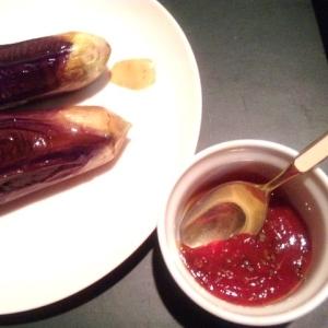 【あっと驚く楽しい一皿!】チーズ&ソースinナス