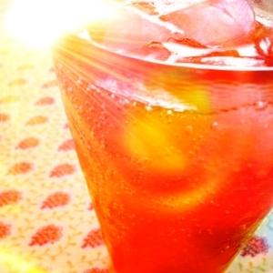 飲みやすい!フルーツのリンゴ酢ドリンク