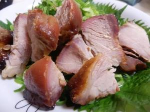 焼き豚のサラダ