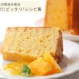チーズスフレ風チーズケーキシフォン【No.355】
