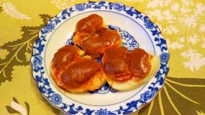 筍のキムチーズ焼き
