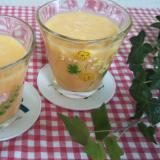 野菜ジュースとパイナップルとバナナのスムージー☆