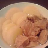 ストウブで作る!大根と豚肉の和風塩味ポトフ