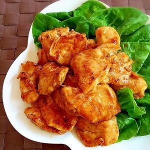 鶏むね肉のにんにくレモン醤油焼き