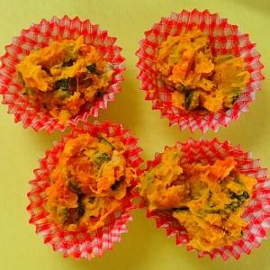 かぼちゃのサラダ★レンジで簡単★お弁当に