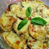 賀茂茄子のチーズ焼き