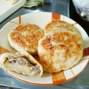 フライパンで惣菜パン★