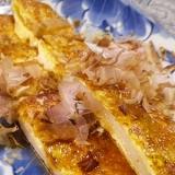 簡単うまい、油揚げの餅チーズサンド