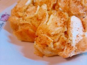 簡単混ぜるだけリンゴのケーキ。