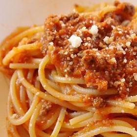 野菜たっぷり☆ボロネーゼスパゲティ(ミートソース)