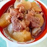 白飯欲しい〜★圧力鍋でとろける「牛スジ煮込み」