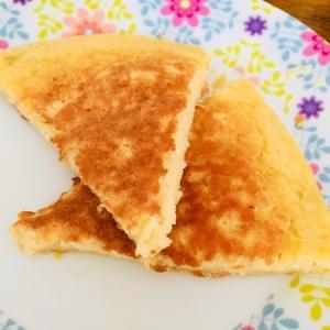 ヘルシー♪豆腐入りホットケーキ♪