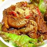 韓国風☆くるま麩のプルコギ丼