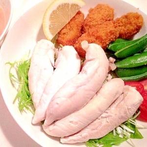 【簡単 豪華 ヘルシー】絶品ソースで食べる鶏ささみ