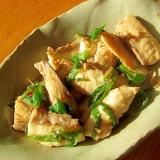 真鯛と葱の煮つけ