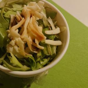 キャベツの簡単鮭サラダ