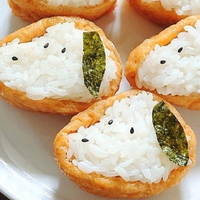 運動会のお弁当にぴったり!パクッと食べられる「いなり寿司」
