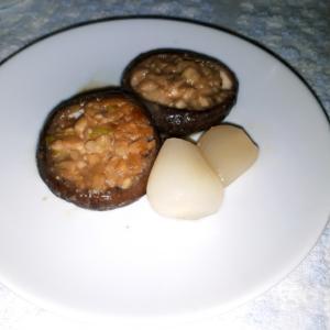 地味な味噌椎茸