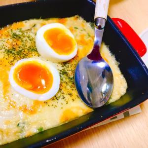 牡蠣の味噌マヨグラタン