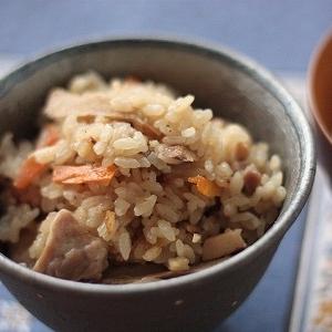 乾燥野菜を使って簡単!炊き込みご飯