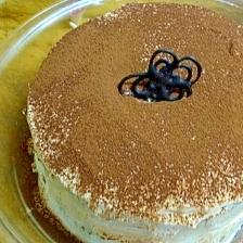 ティラミス風デコレーションケーキ
