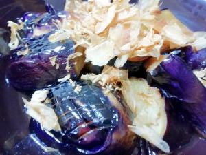 【簡単】ポン酢で茄子の焼き浸し【おつまみ】
