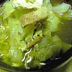 キャベツと卵のスープ:27