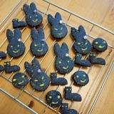 もうすぐハロウィン! 菜種油のヘルシー竹炭クッキー