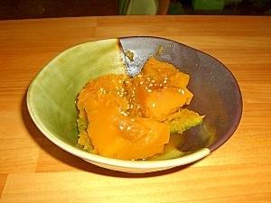 秋はほっくりかぼちゃ煮
