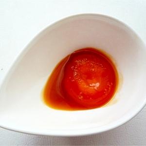卵黄のわさび醤油漬け