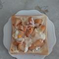 じゃが芋とスライスチーズのミニトースト