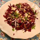 クリスマスパーティーに!簡単華やかトレビスのサラダ
