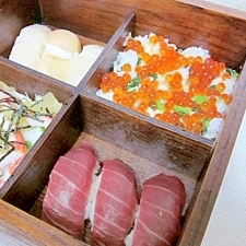 大人のひな祭り☆ 函館海鮮「寿司御膳」