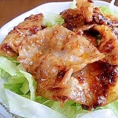 味噌焼き豚バラサラダ