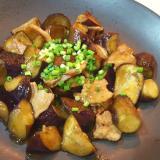 ご飯が進む◎なすと豚バラ肉の甘酢照り焼き