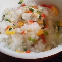 離乳食★チャーハン粥