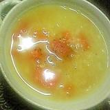 あっさり、キヌアのスープ。