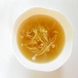 玉ねぎとえのきのコンソメスープ