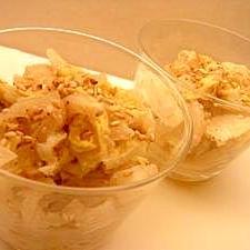 白菜の胡麻レモンサラダ
