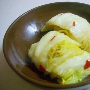 白菜の味噌漬け