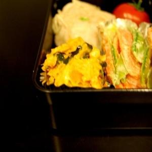 お弁当☆かぼちゃのクリームチーズマッシュ☆