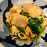 鶏モモ肉とニラの卵炒め